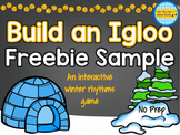 Build an Igloo Freebie