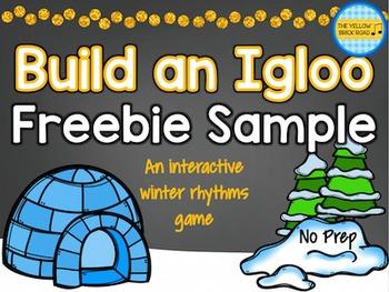 Build an Igloo Freebie