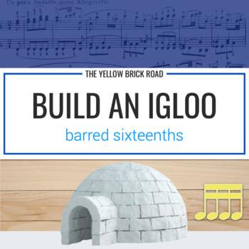 Build an Igloo: interactive winter rhythm game