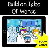 Build an Igloo of Words | Winter January | Boom Cards