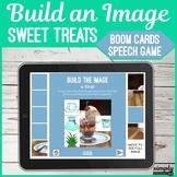 Build a Dessert No Print Speech and Articulation Boom Card Puzzle Game