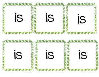 "Build an ""Is"" Sentence"