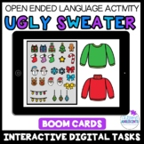 Build an UGLY CHRISTMAS SWEATER- Open Ended Game- BOOM Digital Task Cards