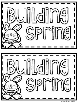 Building Spring Guided Reading Book