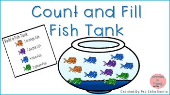 Build and Fill a Fish Tank Math Center