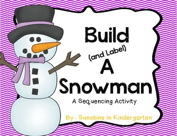 Build {and Label} A Snowman