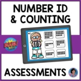 Teen Number Identification & Counting Boom Cards {Includes Bonus 0 - 10 Decks!}