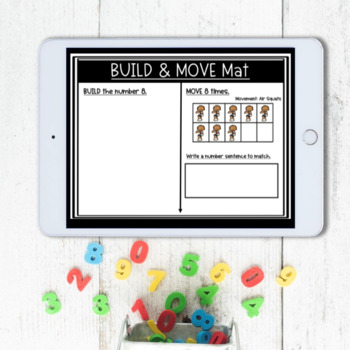 Build and Move Math Center (Numbers 1-10)