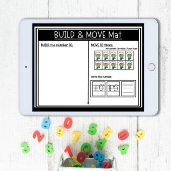 Build and Move Math Center (Pre-Kindergarten Pack)