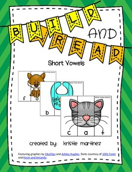 Build and Read - {Short Vowels}
