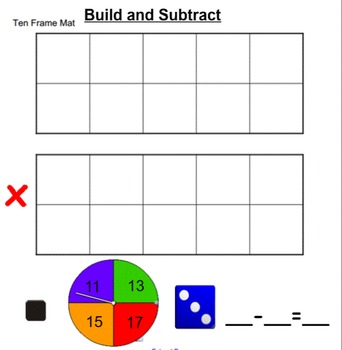 Smartboard: Build Subtract and Cross off
