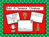 Build and Unscramble a Christmas Sentence / Santa/ Reindeer/ Kindergarten