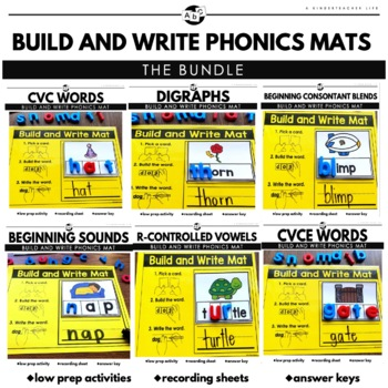 Build and Write Cards Bundle