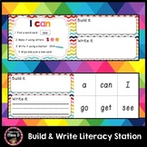 Build and Write Sight Words