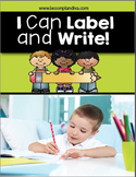I Can Label and Write! Early Writing Activities