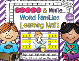Build and Write Word Families Learning Mats