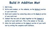 Build it Addition Mat
