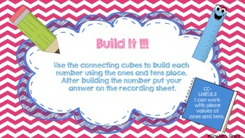Build it - Math Center Game