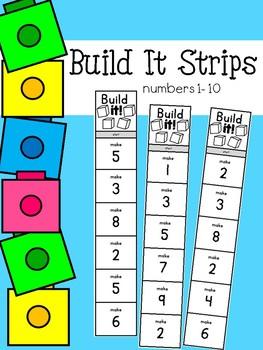 Build it Strips #1-10