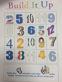 Build it Up Math Counting Game