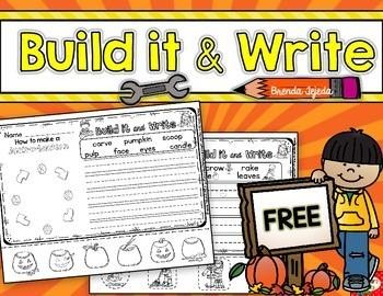 Build it & Write FREEBIE