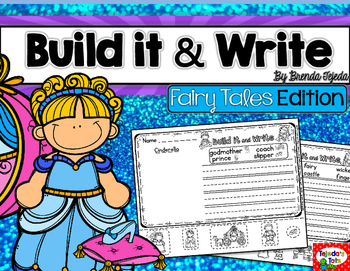 Build it & Write- Fairy Tales