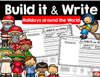 Build it & Write- Holidays Around the World