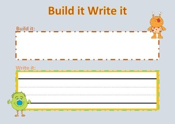 Build it Write it