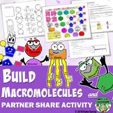 Build the 4 Major Macromolecules & Partner Share Activity