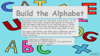 Build the Alphabet
