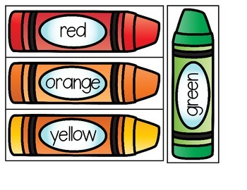 Build the Color Words