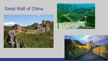 Build the Great Wall of China