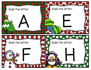 Build the Letter Christmas Edition