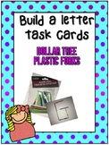 Build the Letters Task Cards: Dollar Tree Plastic Forks