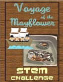 Build the Mayflower Thanksgiving Science Density Inquiry STEM Activity