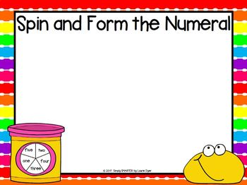 LOW PREP Number Sense and Building Numbers Play Dough Mats (1-10)