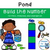 Build the Number - Pond for Pre-K, Preschool, and Kindergarten