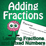 Build the Skill - Adding Fractions