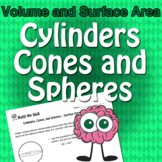 Build the Skill - Cylinders, Cones and Spheres