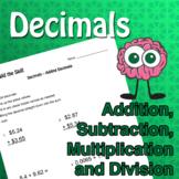 Build the Skill - Decimals
