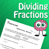 Build the Skill - Dividing Fractions