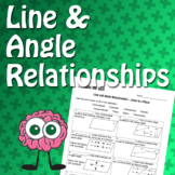 Build the Skill - Line and Angle Relationships