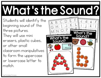 Build the Sound {Beginning Sounds Activity}