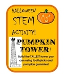 Build the Tallest Pumpkin Tower Halloween STEM Challenge!