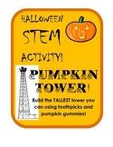 Build the Tallest Pumpkin Tower Halloween STEM Challenge!