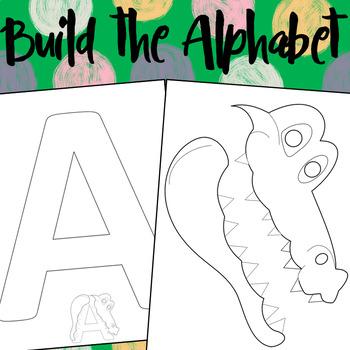 Build the alphabet Craftivity