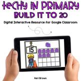 Build to 20 Ten Frames  for Google Classroom