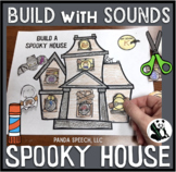 Build with Sounds Spooky House! Speech Therapy Craft Activity