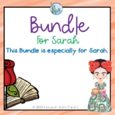 Build your Own Bundle Special order for Sarah