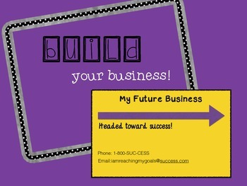 Build your business {Marketing your career!}